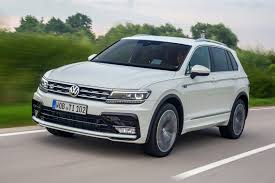 volkswagen tiguan white 2016 vw tiguan allspace 2017 review by car magazine