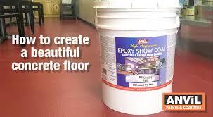Concrete Epoxy Paint How To Apply Epoxy Coating To Concrete Floors Youtube