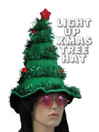 light up hat ugly christmas tree hat light up christmas tree