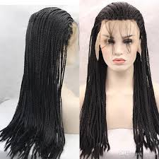 which takes longer to do box braids or senegalese braiding synthetic hair lace front wigs cap blonde black long box