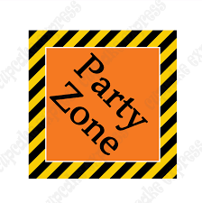 construction party supplies construction zone printable party zone sign diy