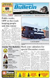 the sioux lookout bulletin vol 24 no 5 december 3 2014 by