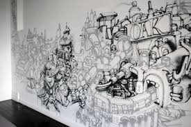 Home Decor Art Trends by Incredible Indoor Graffiti Art Including For Fascinating Home