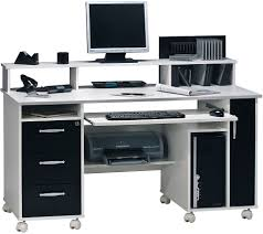 Schreibtisch Mit Computertisch Shopthewall Computertisch Schreibtisch Pc Tisch Lotta In Sonoma