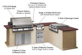 Outdoor Kitchen Supplies - pgs outdoor gourmet kitchen grills