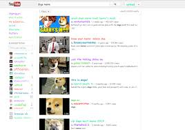 Doge Meme Youtube - type doge meme into you tube search doge know your meme