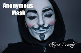halloween mime makeup tuto le masque d u0027anonymous halloween idea anonymous mask youtube