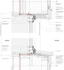 windows and doors cottonwood passive house wood frame head and