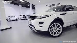 White Range Rover With Red Interior Range Rover Evoque Youtube