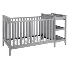 Baby Crib With Changing Table Baby Relax 2 In 1 Convertible Crib And Changing Table Combo