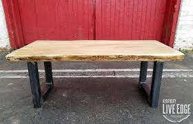 Coffee Table Sale by Sale Reclaimed Live Edge Maple Coffee Table Industrial Coffee