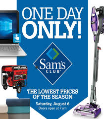 sam s club one day only sale pincher