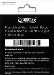 cineplex online cineplex gutscheine 25 nur im cineworld mainfrankenpark einlösbar