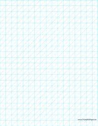half inch graph paper printable oblique graph paper 0 5 inch