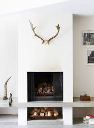 20 nature loving fireplace design ideas unused fireplace filled with natural items