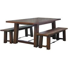 3 piece bench dining set gallery dining