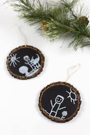 keepsake chalkboard ornament