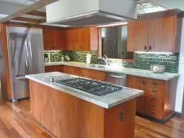 mid century modern style kitchen cabinets
