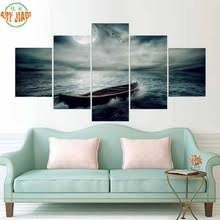 Pirate Decor For Home Buy Pirate Ship Paintings And Get Free Shipping On Aliexpress Com