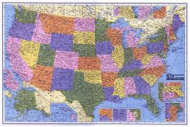 Large Map Of The United States by Large Administrative Map Of The Usa Usa Maps Of The Usa Maps