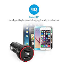 Anker Dual Port Car Charger Anker Powerdrive 2 24w 4 8a 2 Port Usb Car Charger Iphone Car