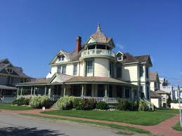 old victorian mansion long beach island new jersey photo taken