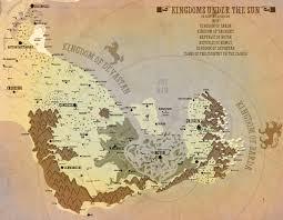 Fantasy Map Regional Fantasy Map Kingdoms Under The Sun By