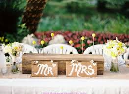 mr mrs wedding table decorations classy sweetheart table ideas for the bride and groom mr mrs