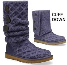womens ugg lattice boots ugg s lattice cardy boots in navy