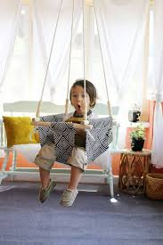 pattern for fabric hammock chair 8 diy hanging chairs you need in your home brit co