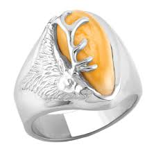 ivory ring elk ivory ring in sterling silver is1766l teton
