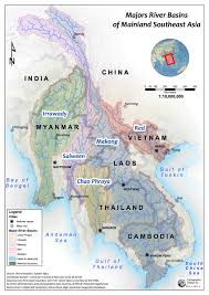 Map Of China Rivers by Dam Maps Wle Mekong