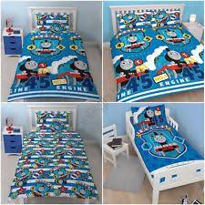 Thomas Single Duvet Cover Children U0027s Thomas The Tank Engine Bedding And Duvet Sets Ebay