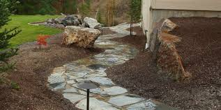 Dry Laid Flagstone Patio How To Install Flagstone Landscaping Network