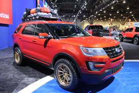 Ford Explorer Lifted - sema 2015 u2013 truckin in the central hall photo u0026 image gallery