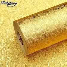 Top Beibehang Cor ouro folha de ouro papel de parede ktv do hotel  @BF71