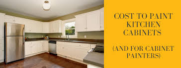 price of painting kitchen cabinets cost to paint kitchen cabinets and for cabinet painters