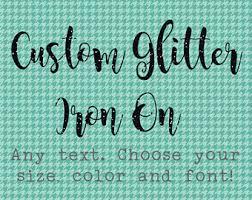 custom iron on etsy