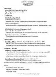 functional resume for high students automotive mechanic apprentice cover letter military food service