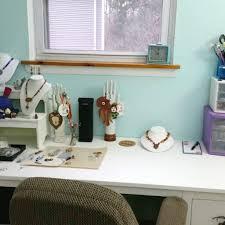 Ikea Studio Desk by Bead Studio Redo