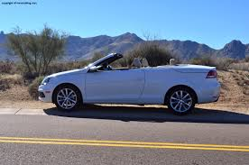volkswagen convertible eos white 2012 volkswagen eos komfort review rnr automotive blog