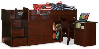 bedroom full size bed with drawers twin captains bed with
