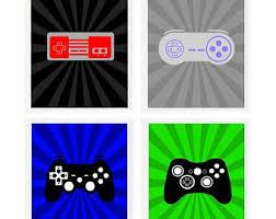 Gamer Home Decor Video Game Decor Etsy