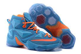 for nike lebron 13 sky blue orange for thanksgiving deal nike