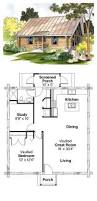 log home plan 69498 total living area 960 sq ft 1 bedroom