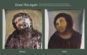 Monkey Jesus Meme - draw this again jesus by panna kot on deviantart