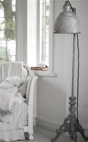 old vintage floor lamp for shabby chic interiors founterior