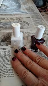 essie style in excess slate gray gel nail polish color