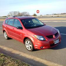 recently purchased a 2003 pontiac vibe base model 5 speed
