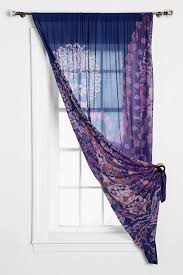 Curtains With Purple In Them We Could Do One On Each And Pull Them Into The Corner Pretty And